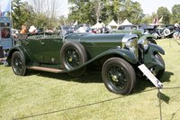1931 Bentley 8-litre Open Tourer by Harrison