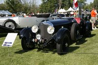 1931 Bentley 8-litre Tourer by Cossica