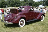 1937 Hupmobile 618-G coupe
