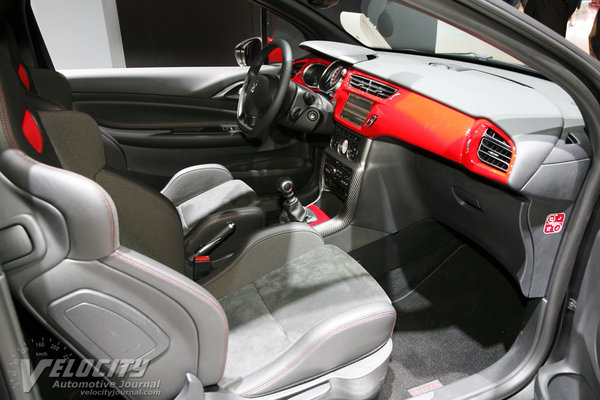 2013 Citroen DS3 Interior