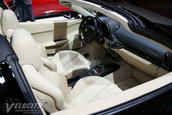 2012 Ferrari 458 Spider Interior