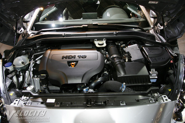 2013 Peugeot RCZ Engine