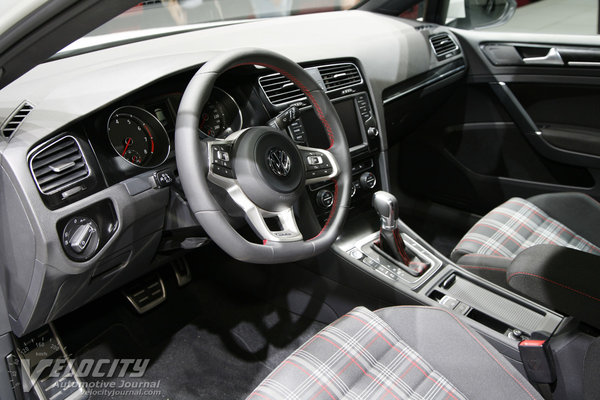 2012 Volkswagen Golf GTI 3d Interior