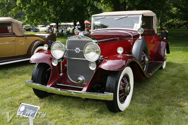 1931 Cadillac 12 Convertible Coupe