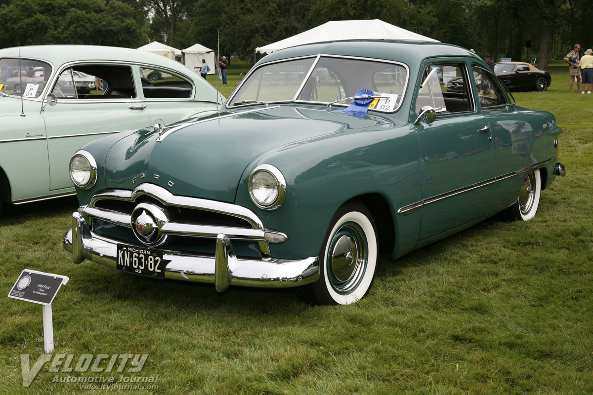 1949 Ford Custom 2d Club Coupe pictures