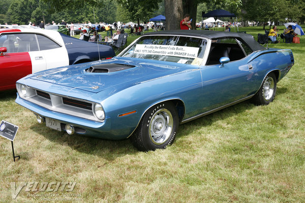 1970 Plymouth Barracuda 'Cuda convertible