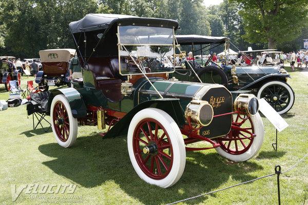 1908 Baker Model M Roadster