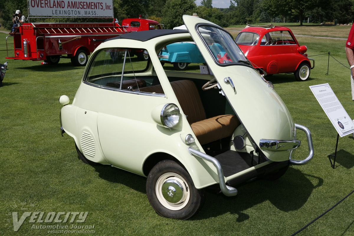 Picture Of 1958 Bmw Isetta 300
