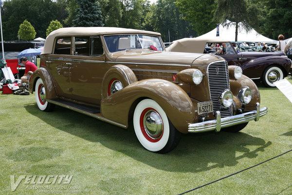 1936 Cadillac Series 75 Convertible Sedan by Fleetwood