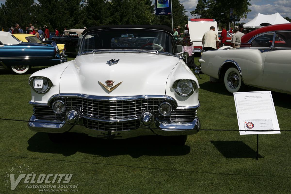 1954 Cadillac Eldorado Pictures El Dorado Sport Convertible Coupe