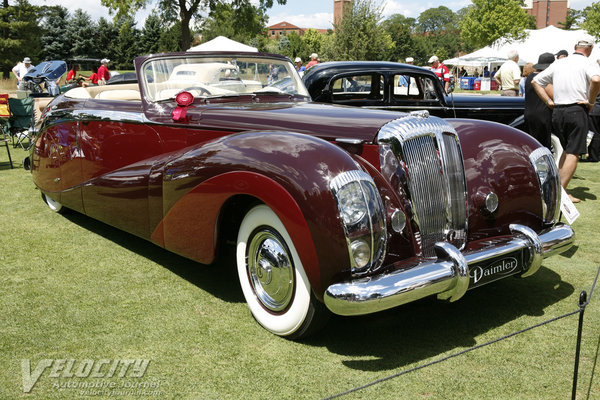 1948 Daimler DE 36 Drophead Coupe by Hooper