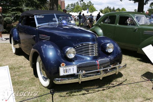 1941 Graham Hollywood convertible
