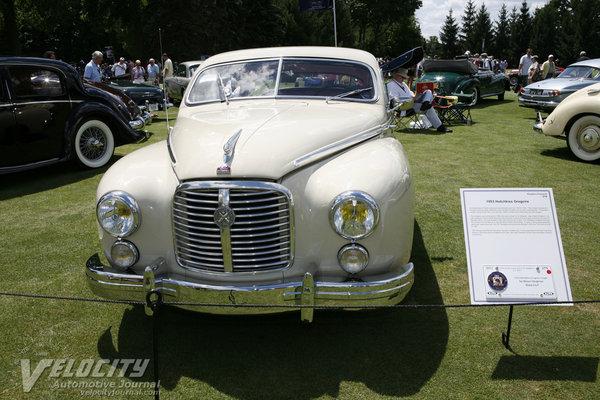 1953 Hotchkiss Gregoire coupe