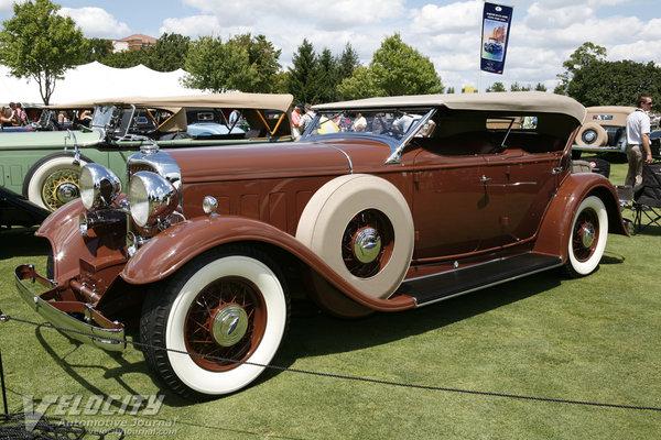 1932 Lincoln KB Brunn Phaeton