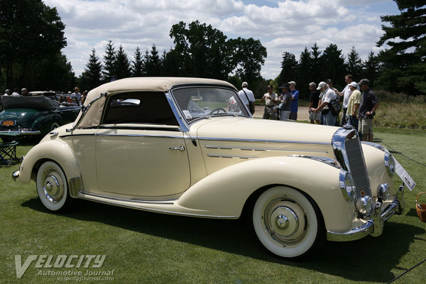 1952 Mercedes-Benz 220 Type W187 Cabriolet A