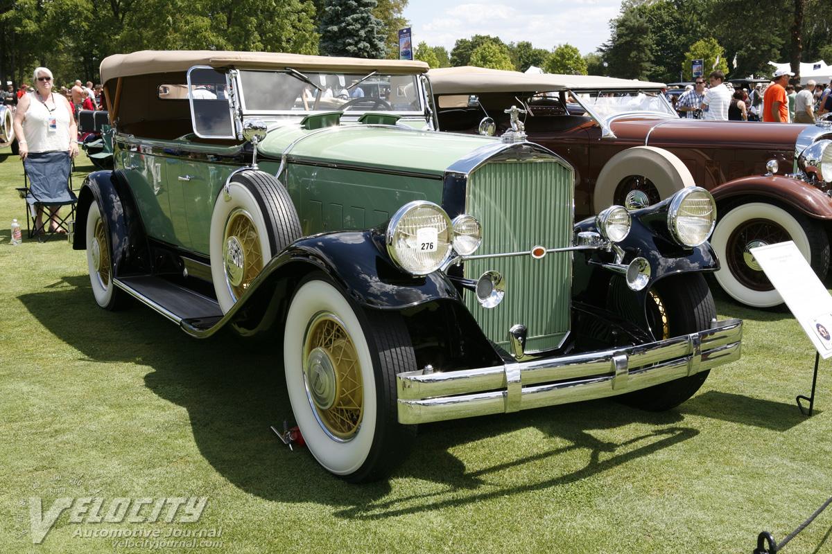 1930 Pierce Arrow Model B Sport Phaeton Pictures