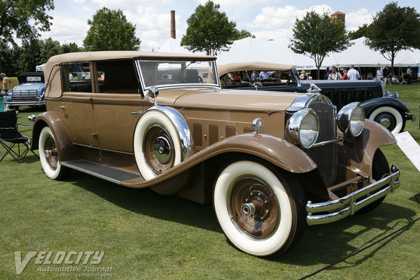 1930 Packard 745 Convertible Sedan