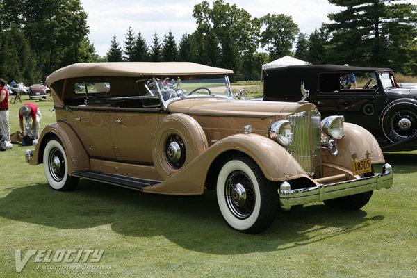 1934 Packard Dual Cowl Phaeton Information