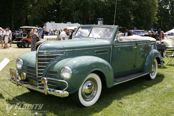 1939 Plymouth P8 Convertible Sedan