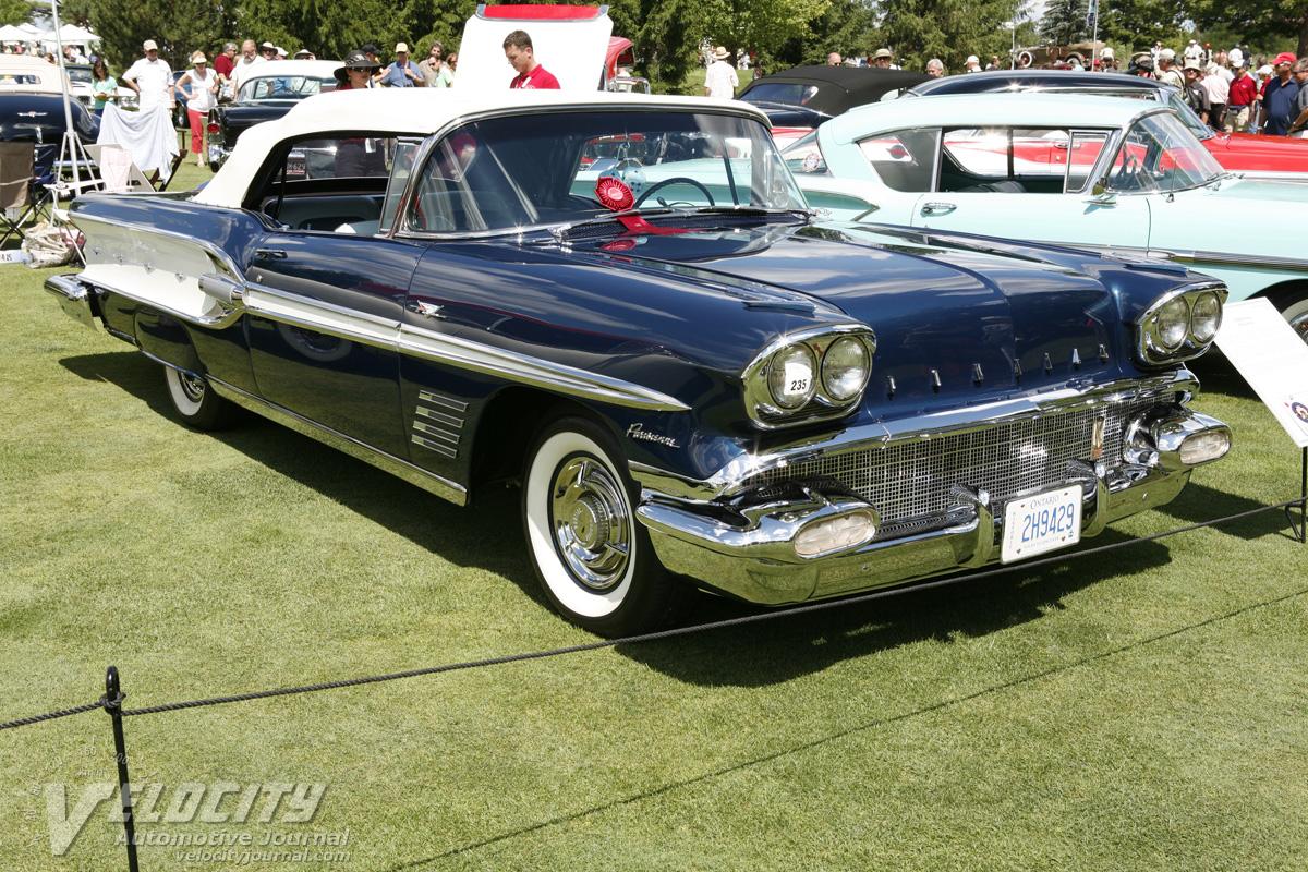 Pics photos 1958 pontiac for sale - 1958 Pontiac Parisienne Convertible