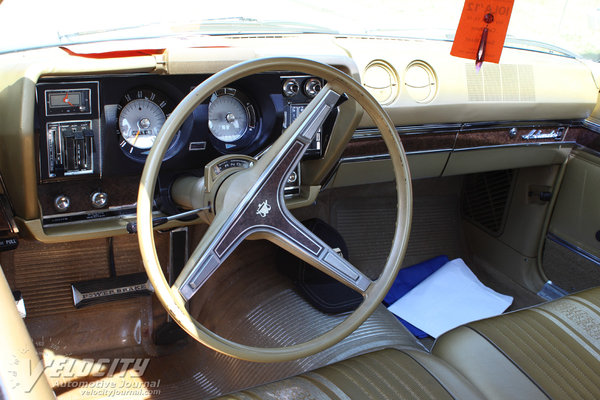 1968 AMC Ambassador 2d hardtop Interior