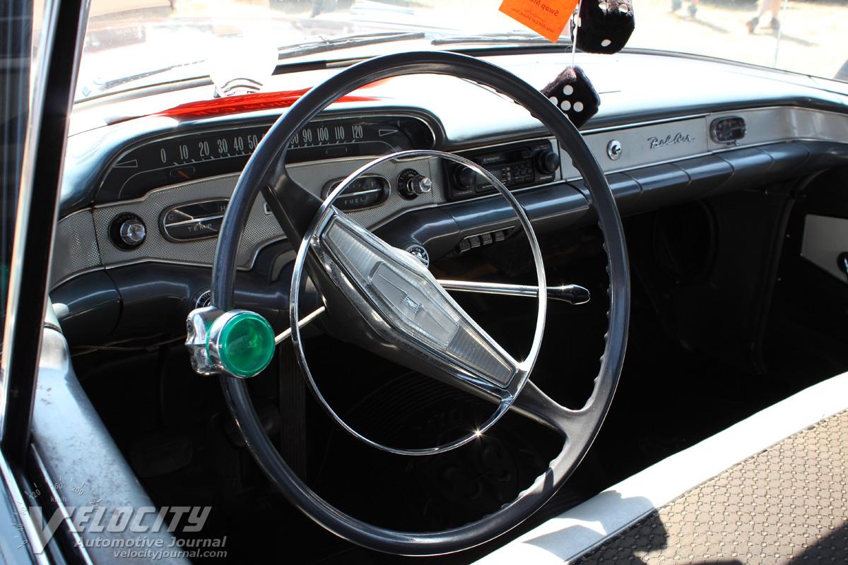 1958 Chevrolet Bel Air 4d pictures