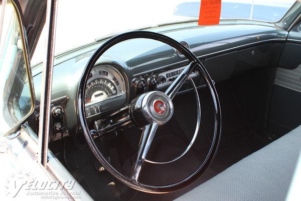 1953 Ford Customline 4d sedan Interior