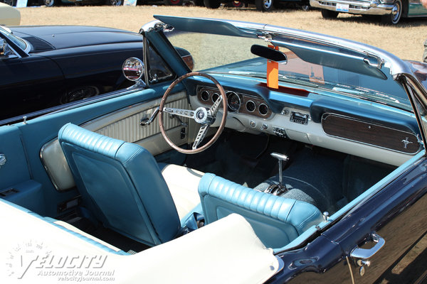 1966 Ford Mustang Convertible Interior