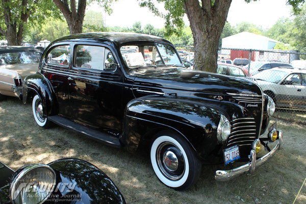 1940 Plymouth P9 Road King 2d