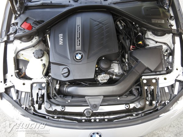 2012 BMW 3-Series 335i sedan Engine