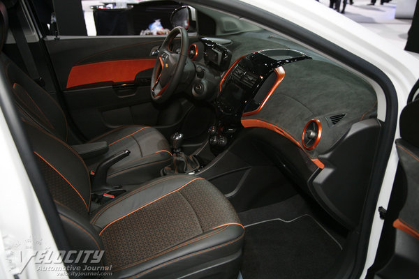 2012 Chevrolet Sonic Z-Spec 2.5 Interior