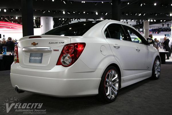 2012 Chevrolet Sonic Z-Spec 2.5