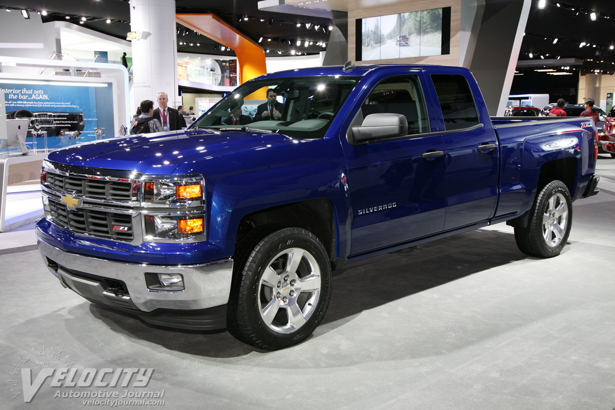 picture of 2014 chevrolet silverado 1500 double cab. Black Bedroom Furniture Sets. Home Design Ideas