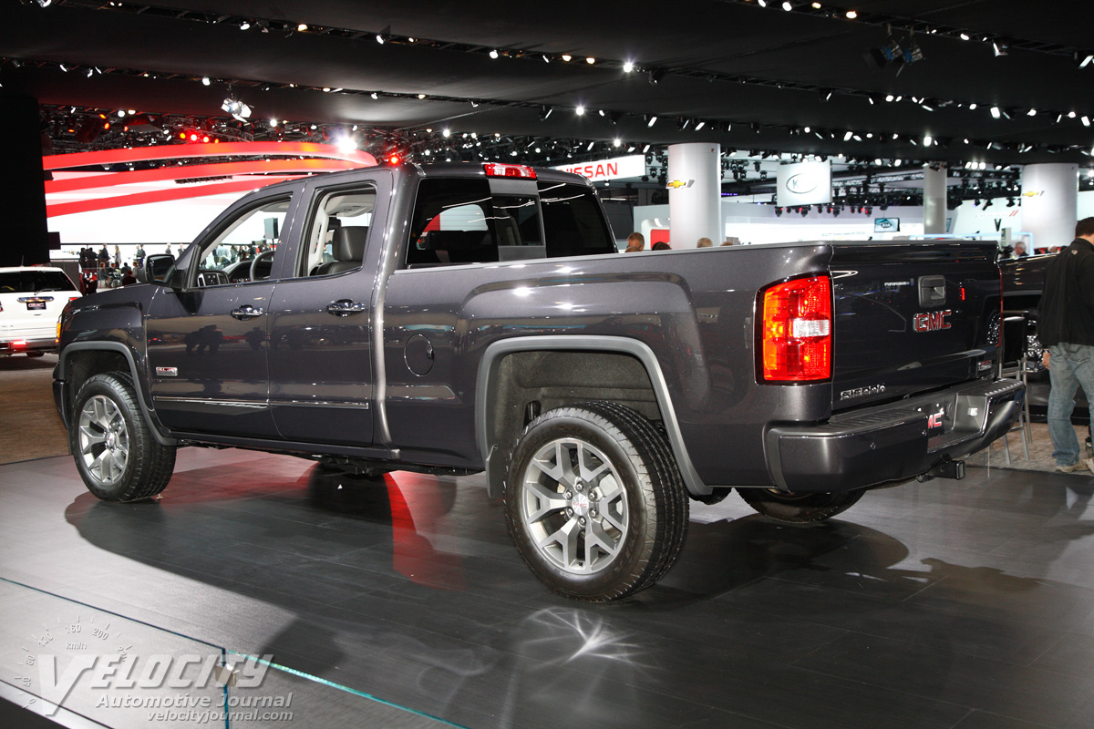 picture of 2014 gmc sierra 1500 double cab. Black Bedroom Furniture Sets. Home Design Ideas