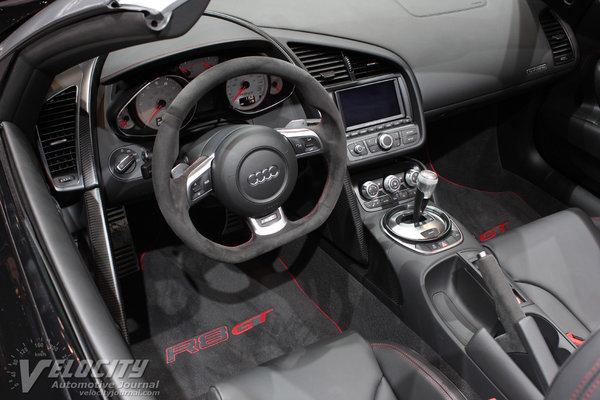 2012 Audi R8 GT Spyder Interior
