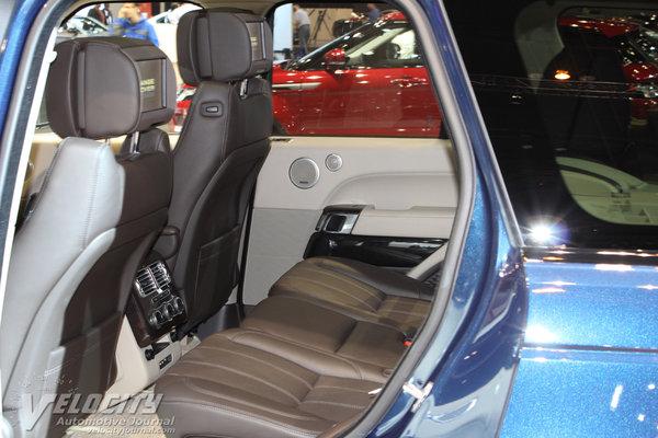 2013 Land Rover Range Rover Interior