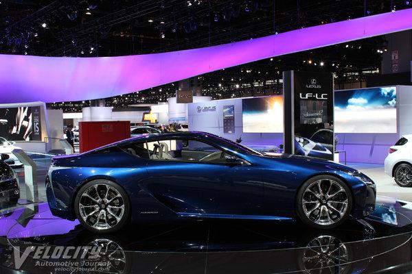 2012 Lexus LF-LC Blue