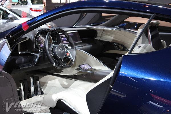 2012 Lexus LF-LC Blue Interior