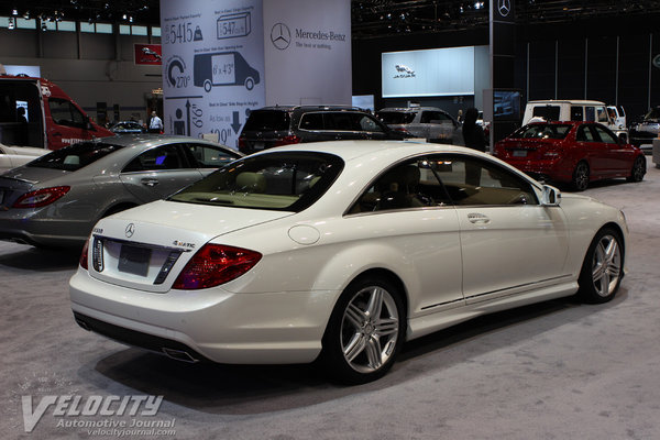 2013 Mercedes-Benz CL-Class CL550
