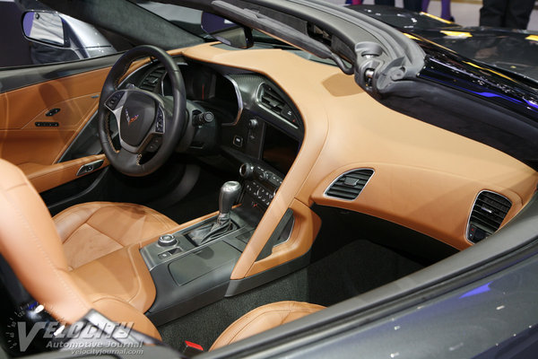 2014 Chevrolet Corvette Convertible Interior