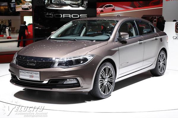 2014 Qoros 3 Sedan