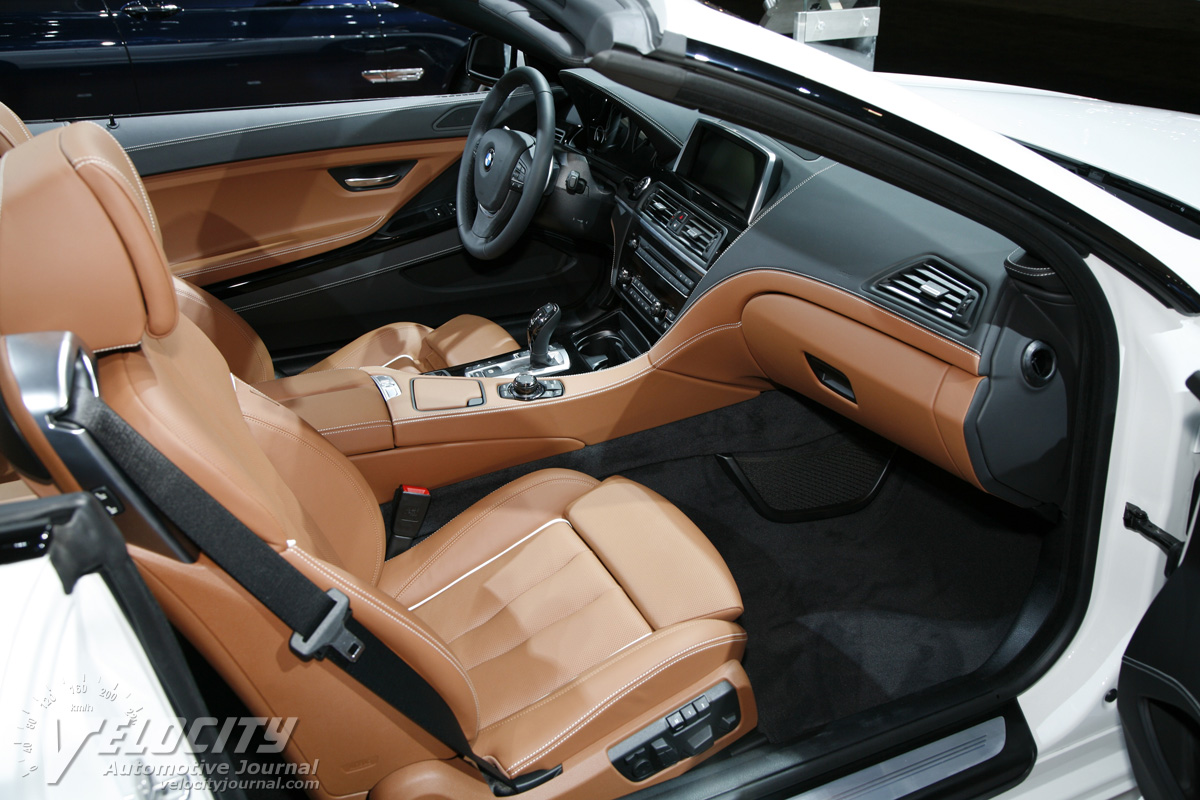 2014 BMW 6 Series M6 Convertible Interior