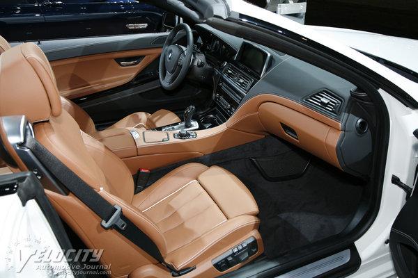 2014 BMW 6-Series M6 Convertible Interior