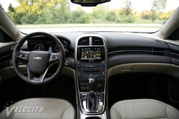 2013 Chevrolet Malibu LTZ Instrumentation