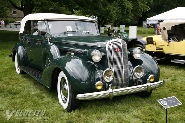 1936 Buick Series 80 convertible sedan