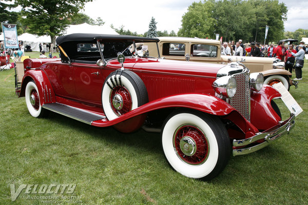 1931 Chrysler CG Imperial Roadster by LeBaron