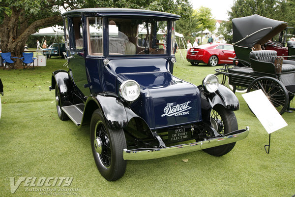 1931 Detroit Electric 91 Coupe