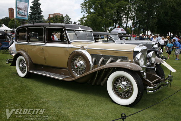 1934 Duesenberg Supercharged Continental Touring by Berline