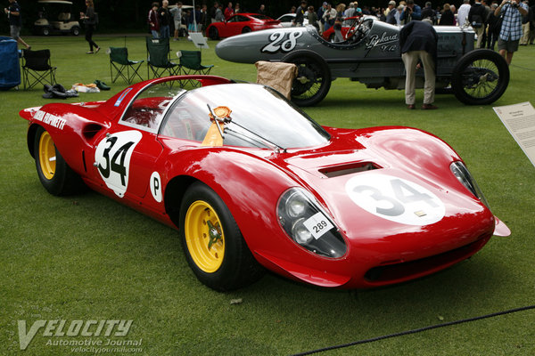 1967 Ferrari 206 Dino Coupe by Drogo