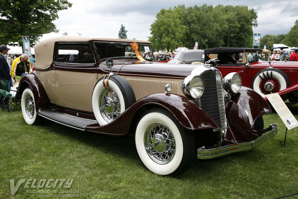 1933 Lincoln KB Convertible Victoria by Brunn